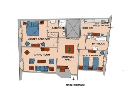 Apartment Florence Belvedere Plan