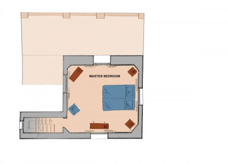 Apartment Florence La Torretta Plan Top Floor