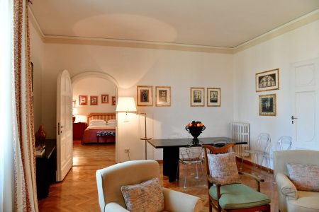 Apartment Florence Vista-Uffizzi Gallery Living Room